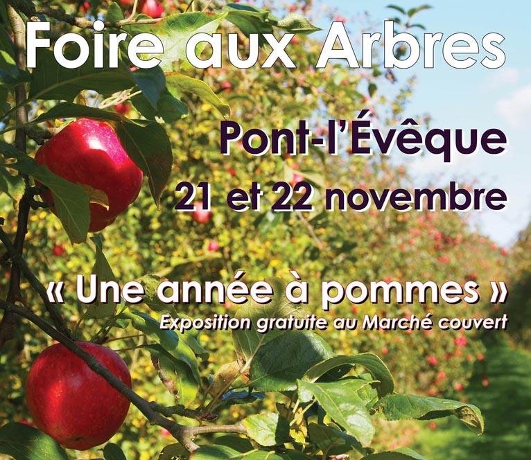 27e foire aux arbres pont l 39 ev que agri culture for Salon gastronomie pont l eveque