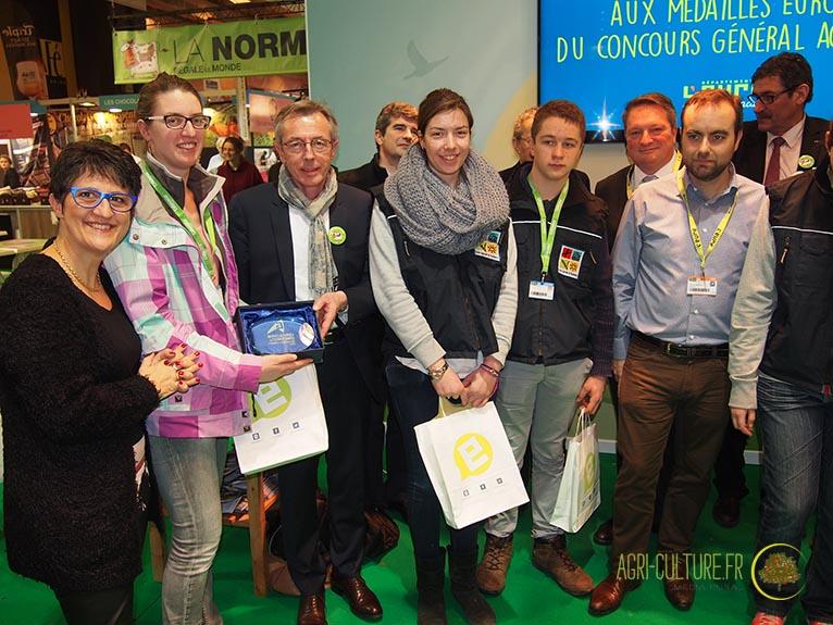 Sia 2016 les m daill s de l 39 eure au concours g n ral agricole agri culture - Chambre agriculture eure ...