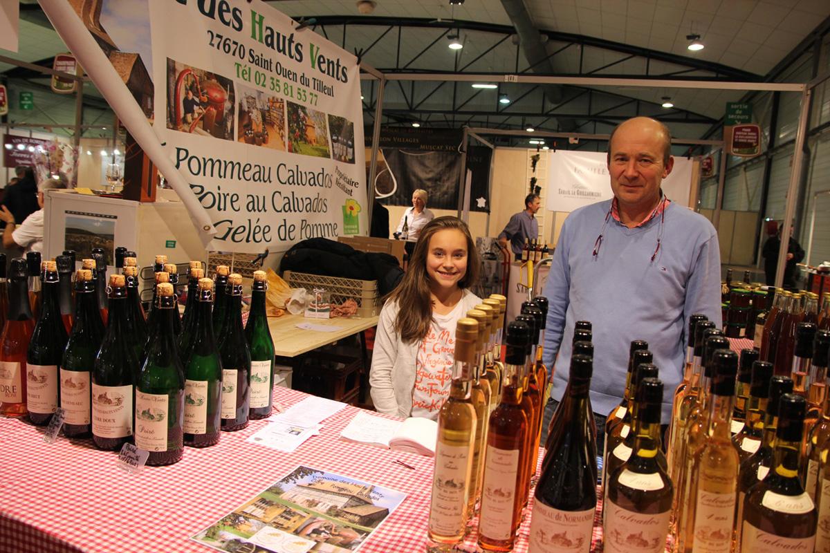 On a test le salon vins et terroirs rouen agri culture - Salon du chiot rouen ...