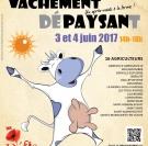Affiche Vachement Dépaysant Défis Ruraux Normandie