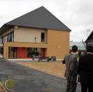 Inauguration de l'internat de la maison familiale et rurale de Routot. Roumois Eure 27