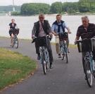 La Véloroute du Val de Seine inaugurée à Villequier