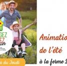 Animations à la ferme juillet août calvados normandie