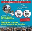 Fête de la chasse et de la pêche haras du pin 2017