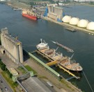 Rouen : les exportations de céréales reculent de 18 % en 2017