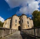 pont en bois château d'harcourt charpentiers sans frontière
