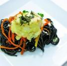 Filet de merlan aux petits légumes