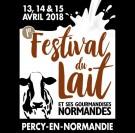 festival du lait et autres gourmandises normandes Percy en Normandie
