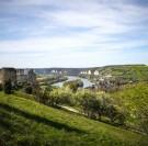 La Seine en Velo : de Vernon en route pour Les Andelys Château Gaillard