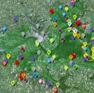 Une carte des produits locaux disponibles en vallée de Seine