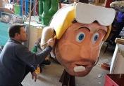 Avec Charbonique 1er, le Carnaval de Granville a son roi !