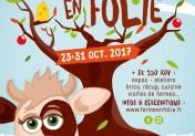 """Festival pour enfants """"La ferme en folie"""" autour de Granville Bréhal Manche Normandie"""