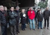 Syndicats agricoles et associations s'opposent à la future prison d'Ifs (14)