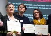 Amélie Arnaudet lors de la remise des diplômes aux lauréats du Programme national pour l'Alimentation. © B.Delabre