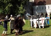 Fêtes médiévales à l'Abbaye de Fontaine-Guérard