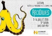 festival récidives 2018 théâtre de marionnettes et formes variées