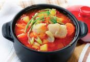 Soupe de poisson aux légumes normands