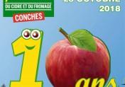 Fête de la Pomme, du Cidre et du Fromage à Conches-en-Ouche 2018