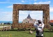 Jusqu'au 24 octobre 2021, un premier festival de Land Art est organisé à Varengeville (76) dans le cadre de Normandie Impressionniste.