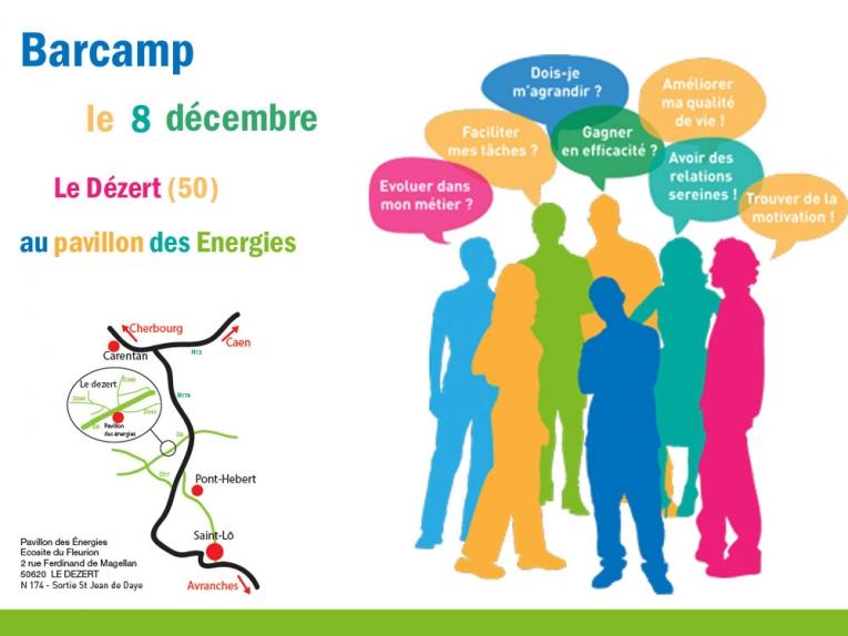 Barcamp am liorer l 39 organisation du travail agri culture for Chambre agriculture manche