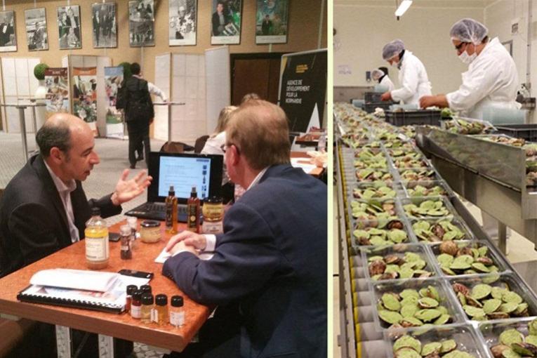 Agrodays l 39 agroalimentaire de normandie vise l 39 export - Chambre d agriculture normandie ...