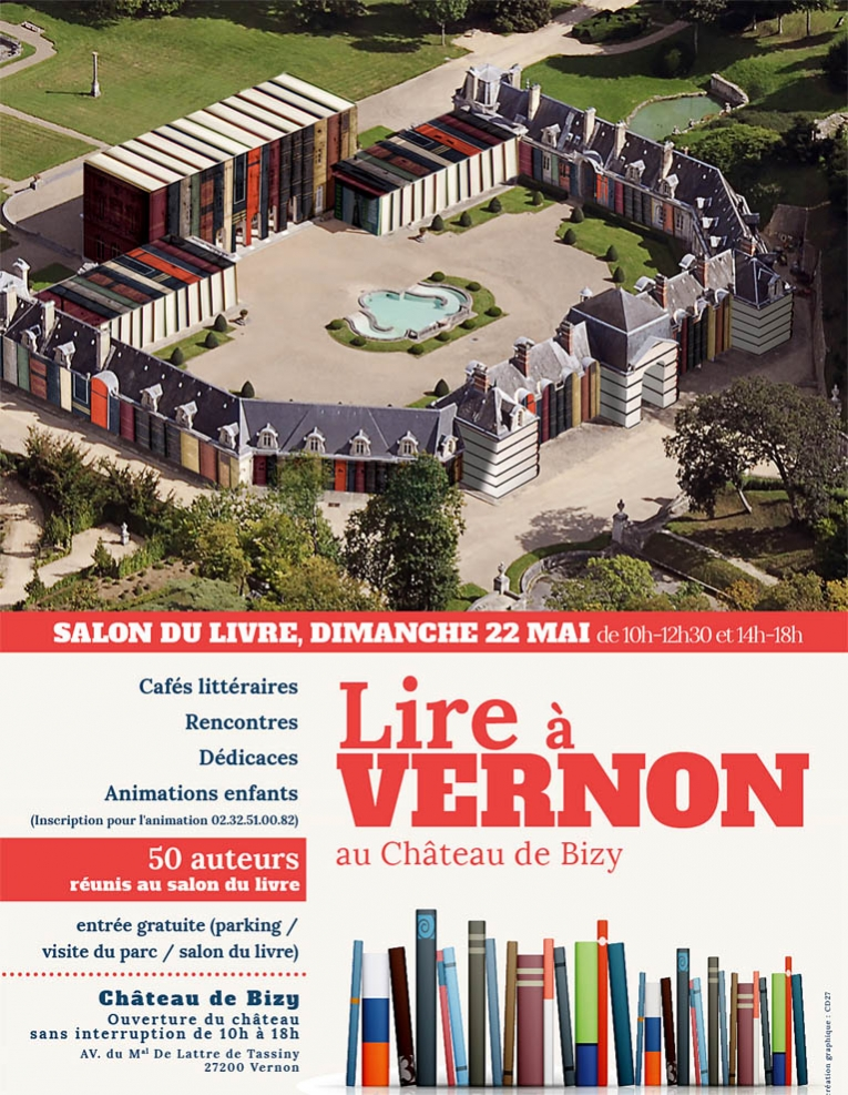 Salon du livre lire vernon agri culture for Salon du livre brive