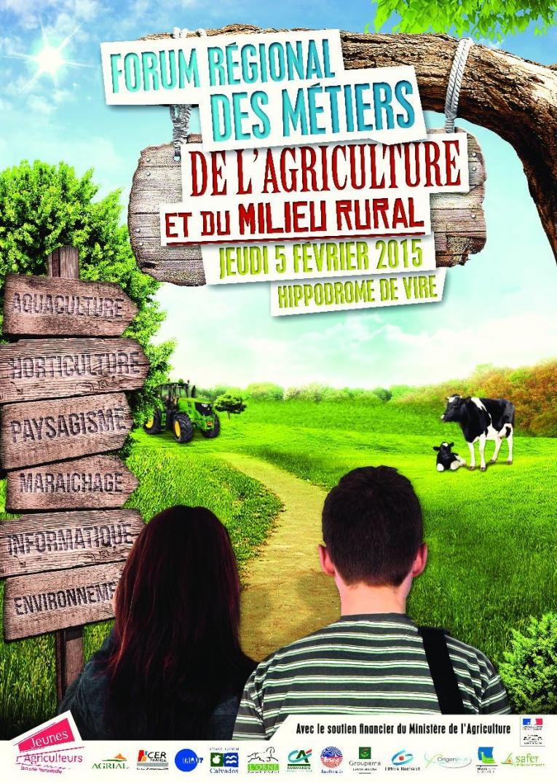 Forum r gional des m tiers de l 39 agriculture et du milieu for En milieu rural